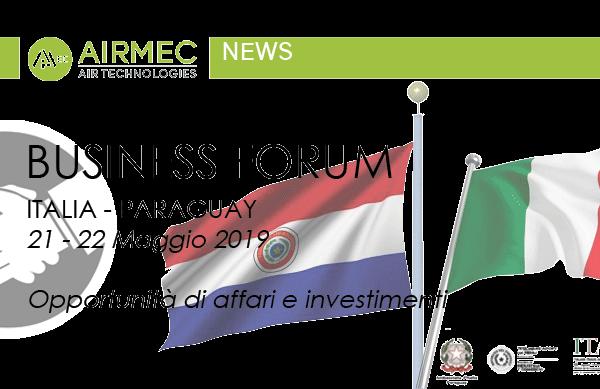 BUSINESS FORUM         ITALIA-PARAGUAY